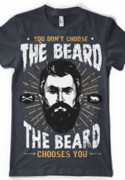 Футболка The Beard Choice