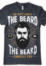 футболка the beard choice