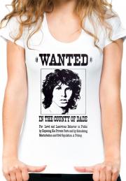 Женская футболка Wanted Jim Morrison Girls