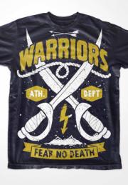 футболка warriors
