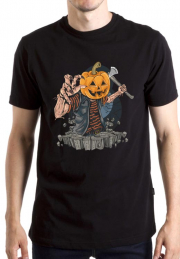 Футболка Zombie With Pumpkin