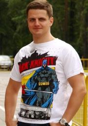 футболка batman dark knight