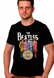 Футболка Beatles Let it be