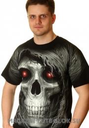 3d футболка red eyes full print