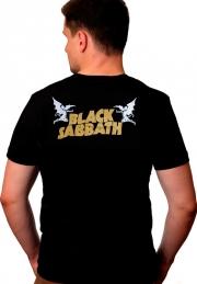 футболка black sabbath star