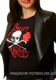 Женская футболка Bullet for my Valentine
