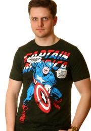 Футболка Captain America Direct Hit