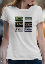 Ретро футболка Cassete Girl