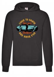 худи come to skate hoodie black