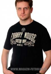 байкерская футболка custom made
