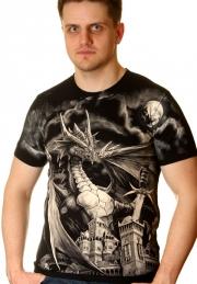 футболка дракон и замок