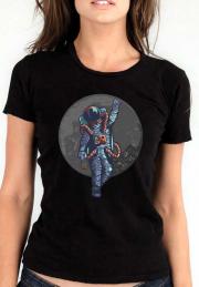 Женская футболка Drunk Astronaut Give  Girls