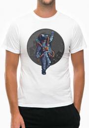 футболка drunk astronaut give bye you