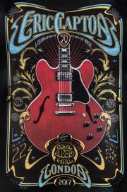 Постер Eric Clapton Poster