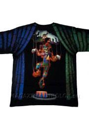 футболка с креативным рисунком evil clown