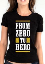 Футболка From Zero To Hero Girls