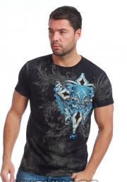 футболка xzavier l1603blk