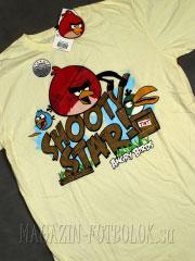 футболка angry birds shooty star