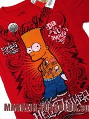 футболка bart simpson hell raiser