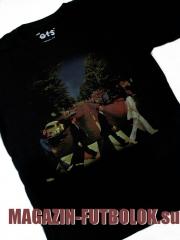 футболка beatles abbey road винтаж