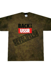 футболка beatles back in ussr