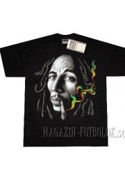 футболка bob marley с сигаретой