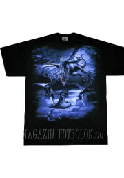 футболка большого размера дракон swarm