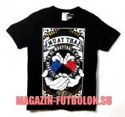 футболка born to be muay thai
