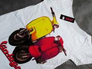 футболка для беременных сolor motobike