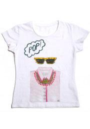 футболка для девушек pop