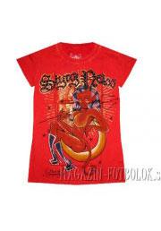 классная футболка для девушек girl diablo