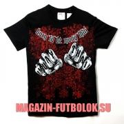 футболка fists - born to be muay thai
