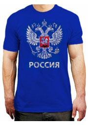 Футболка с логотипом России - Герб