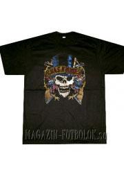 футболка guns-n-roses c черепом