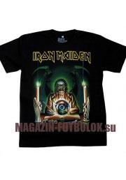 футболка iron maiden candle