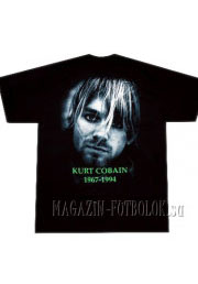 футболка kurt cobain 1967-1994