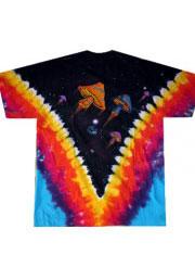 футболка с грибами space shrooms