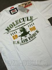 футболка molecule us air force (white)