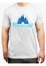 футболка с логотипом москва