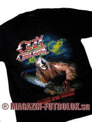 футболка оззи осборн bark moon