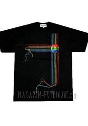 футболка pacific color stripes