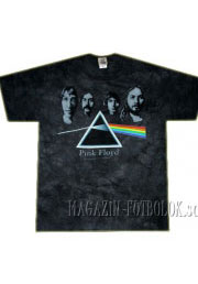 футболка с фото pink floyd - dark side group