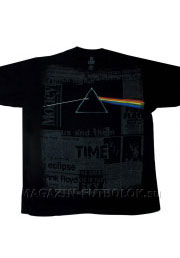 футболка pink floyd dark side headlines