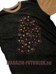 футболка покер с игральными картами