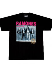 футболка ramones с группой