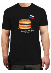 Футболка Russian Big Mac