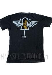 футболка с девушкой girl in keyhole