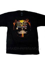 футболка с музыкальной группой ac/dc