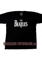 футболка с надписью beatles