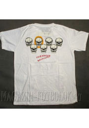 футболка со скелетом the best m